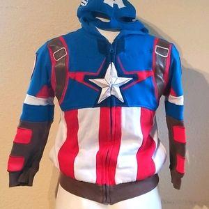Disney captain America hoodie 7/8